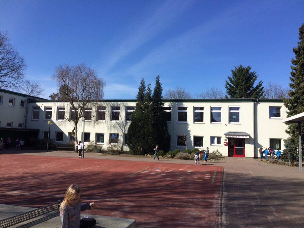Grundschule Birkenallee, Verwaltungstrakt